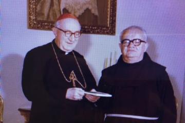 fra Bazilije i kardinal Šeper