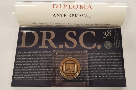 Promocija fra Ante Bekavca